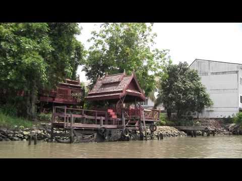 Chao Phraya River & Canals of Bangkok / Река Чао Прайя и Каналы Бангкока