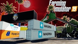 BUILDING A ZOMBIE APOCALYPSE CARGO BASE?! (Farming Simulator 19 Gameplay Roleplay) Zombie Survival!