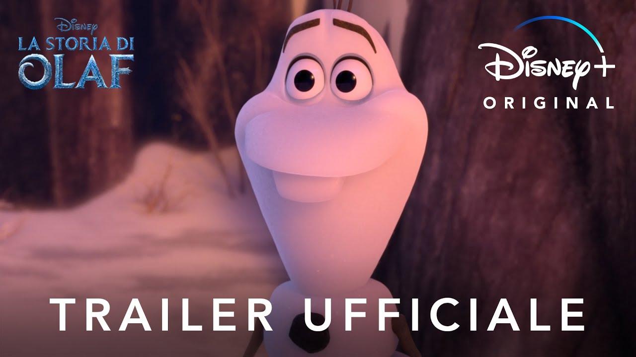Disney+   La Storia di Olaf - Corto Originale in Streaming dal 23 Ottobre