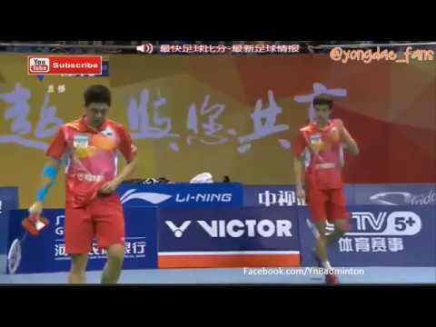 2016-2017 CBSL Lee Yong Dae 이용대/Shin Baek Cheol 신백철 vs Zhang Nan/Guo Yuchen
