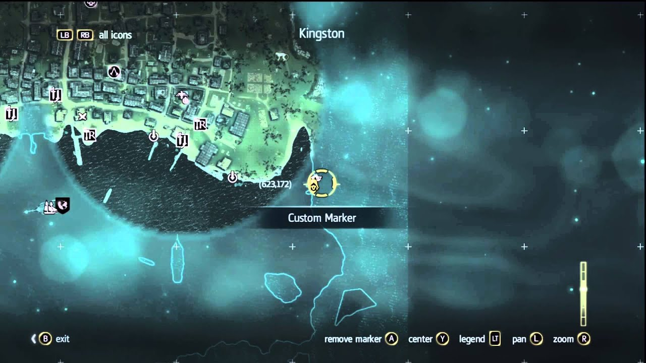 Assassins creed 4 black flag treasure map location 623 172 youtube premium gumiabroncs Gallery