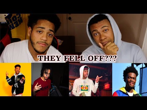 He Fell Off? | Rappers That Fell Off vs Rappers That Are Blowing up! | REACTION!
