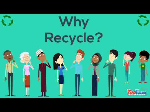 why we recycle In why do we recycle frank ackerman examines the arguments for and against recycling, focusing on the debate surrounding the use of economic mechanisms to determine the value of recycling.