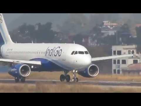 Aeroplanes in Kathmandu Airport