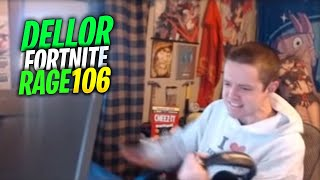DELLOR FORTNITE MEGA RAGE COMPILATION 106