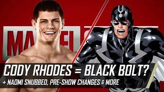 Cody Rhodes as Black Bolt, Shinsuke Nakamura Wins NXT Title & More (Smack Talk 263 Hot Tags)
