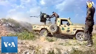 Social Media Footage of SDF Clashes with IS