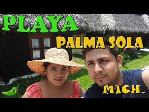 CABAÑAS FRENTE AL MAR EN PALMA SOLA MICHOACÁN