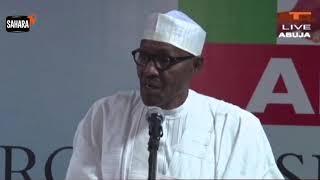 Buhari Blows Hot Says Ballot-Box Snatchers Will Do It At The Expense of Their Lives