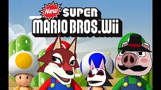 Super Mario Bros. Wii part 1
