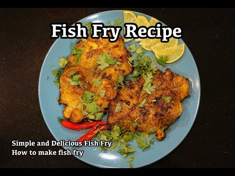 Fish Fry Recipe | Simple and Delicious Fish Fry | How to make fish fry |
