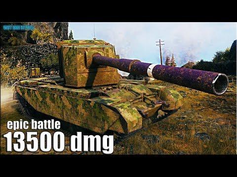 13500 dmg на ИМБЕ ? FV4005 Stage II World of Tanks gameplay thumbnail
