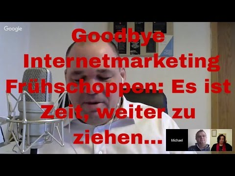 Goodbye Internetmarketing Frühschoppen: Es ist Zeit, weiter zu ziehen...
