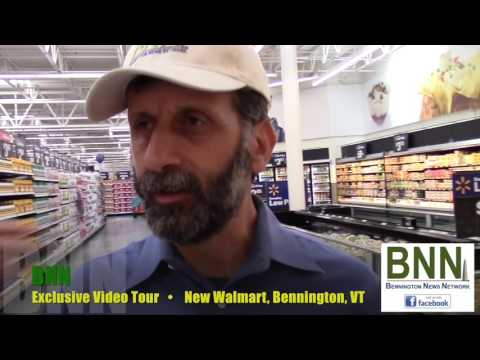 BNN:  Exclusive NEW Walmart Video Tour in Bennington, VT