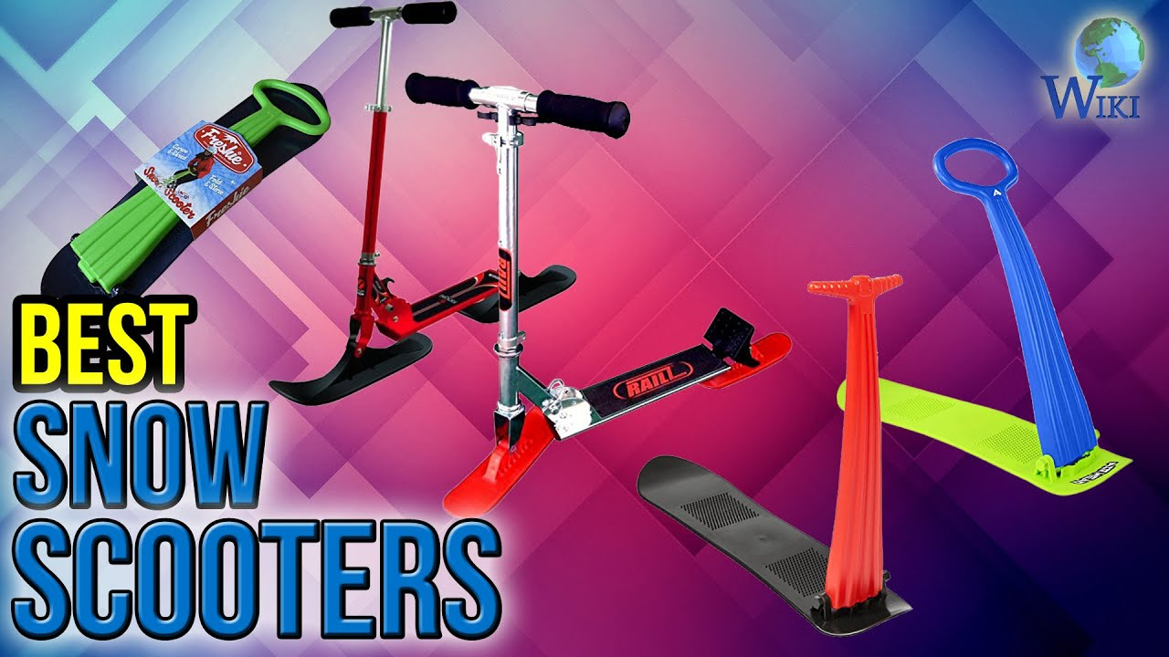 8 Best Snow Scooters 2017