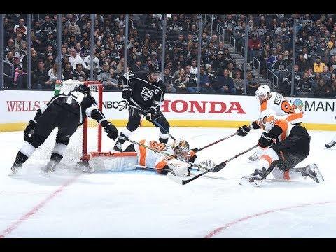 Philadelphia Flyers vs Los Angeles Kings, 05 october 2017
