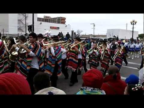Stell Band Charro Days Parade 2012