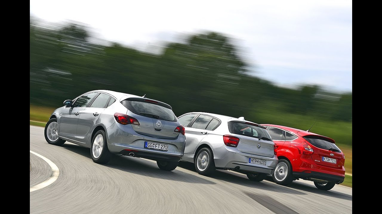 opel astra h vs ford focus 2