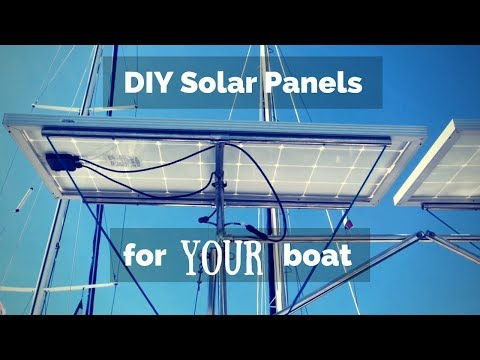 How to Fit Solar Panels to Your Boat! | ⛵ Sailing Britaly ⛵