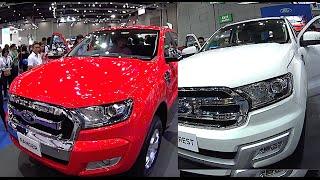 New 2016, 2017 Ford Ranger VS Everest Titanium