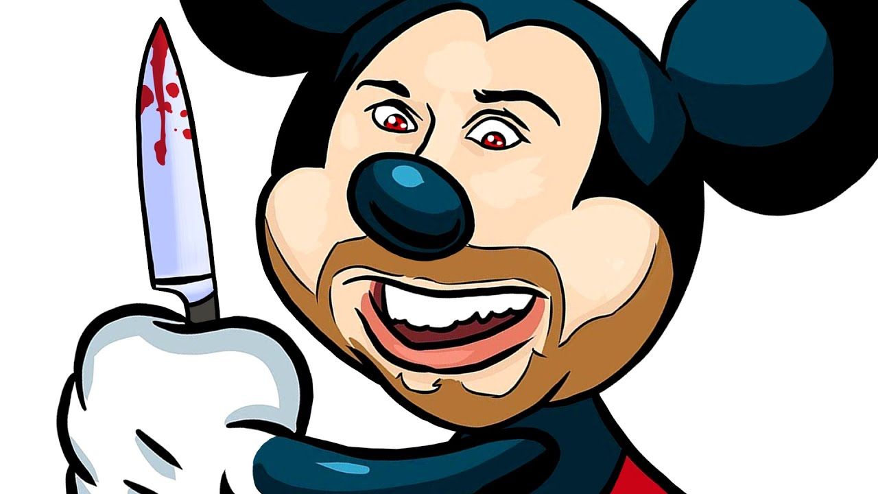 Mickey Mouse is a PSYCHO! (Dead By Daylight Multiplayer Horror Game)