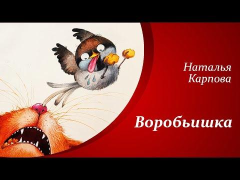 Веселые стихи о животных для детей     Наталья Карпова - Воробьишка