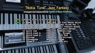 """""""Nokia Tune"""" Jazz Fantasy [Cover] [Yamaha moXF6]"""