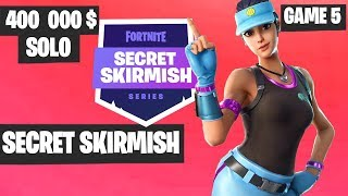Fortnite Secret Skirmish SOLO Game 5 Highlights [Day 2] Fortnite Tournament 2019