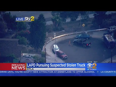 Otis - Naked Man Tries To Evade LA Police In Foot Chase