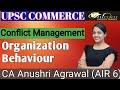Conflict Management ll Organization Behaviour ll UPSC COMMERCE ll Paper 2