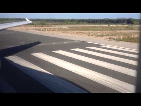 LH1133: Takeoff from RWY25L in Barcelona with old Lufthansa Lady