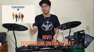 HIVI ! - Tersenyum, Untuk Siapa ? Drum Cover DTX452K