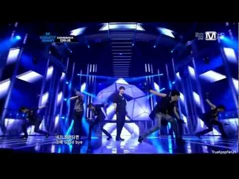 Infinite - The Chaser @ Mnet M!Countdown 120517 - MR Removed