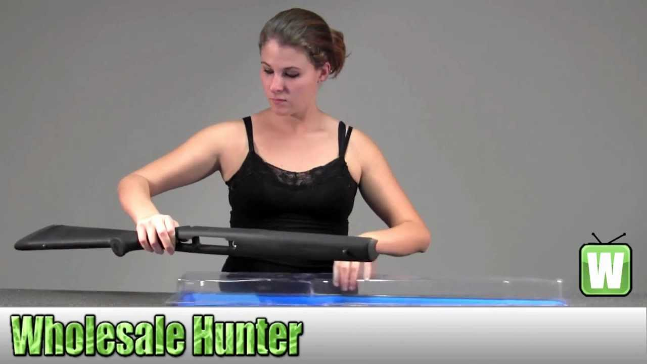 Hogue Remington 700 BDL Short Action Heavy Barrel Pillarbed Stock Black  70010 Unboxing