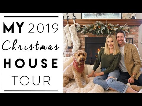CHRISTMAS DECORATING | My Official Christmas House Tour 2019