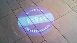 USHAA Bravo Top 25 Nasdaq NYC Lobby Paul & Luz - Logo Light Show - uncut 2010-0813 Thumbnail