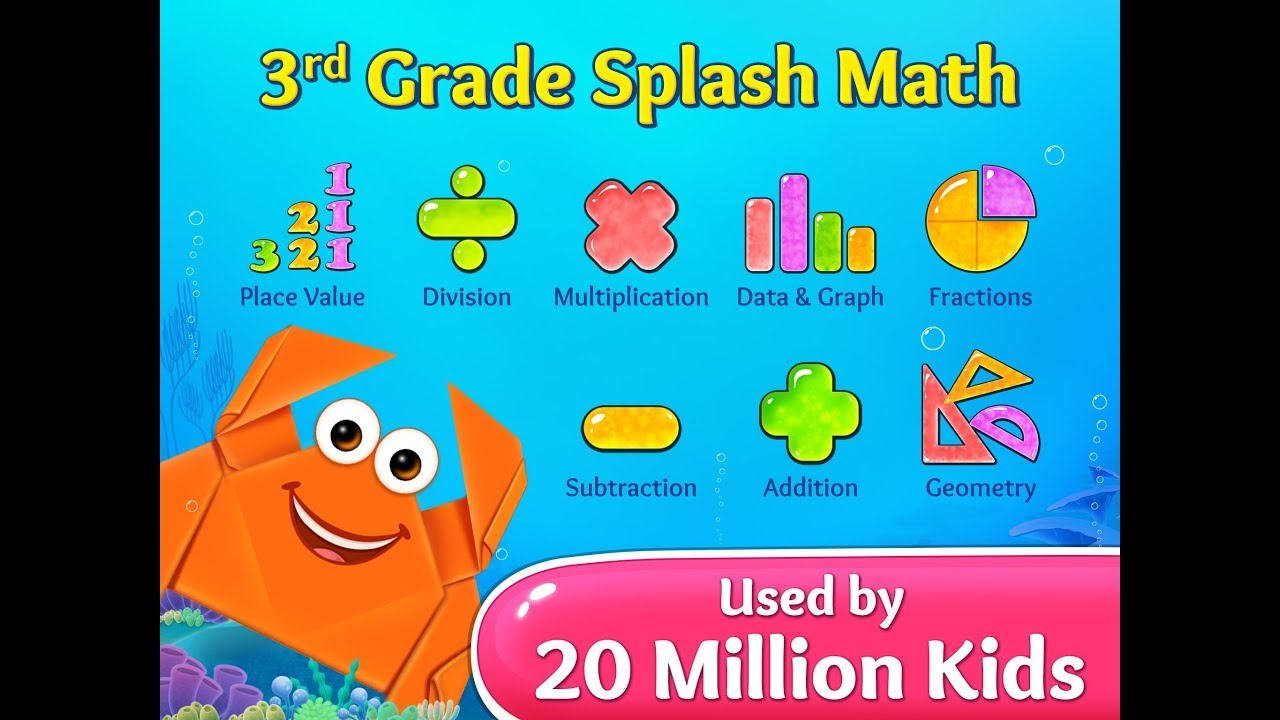 3rd Grade Splash Math Games. Multiplication, divison tables & free ...