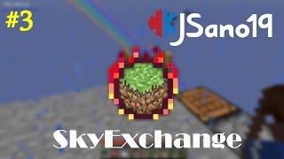 Modded Minecraft - SkyExchange (Single Player) - Ep. 3 - Transmutation?  (Twitch Stream)