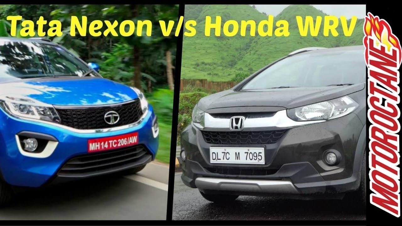 Tata Nexon Vs Honda Wrv Comparison टट नकसन Vs