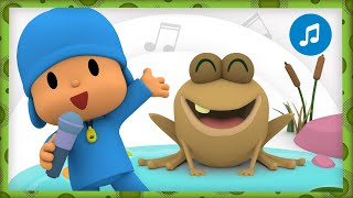 🐸  CUCKOO A FROG SANG A SONG   Nursery Rhymes & Baby Songs - Pocoyo