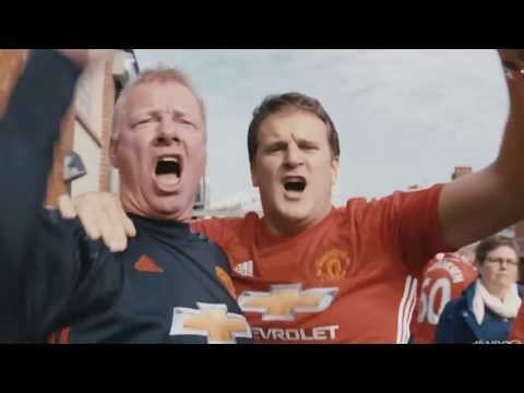 Manchester United and Manchester City Derby Documentary - From American TV