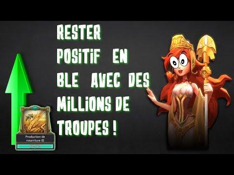 [TUTO] RESTER POSITIF EN BLÉ AVEC DES MILLIONS DE TROUPES ! [LORDS MOBILE]