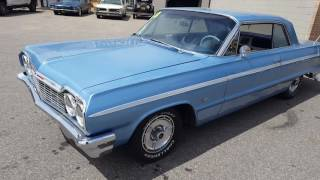 1964 Impala SS FOR SALE AT WWW.UNIQUECLASSICCARS.COM