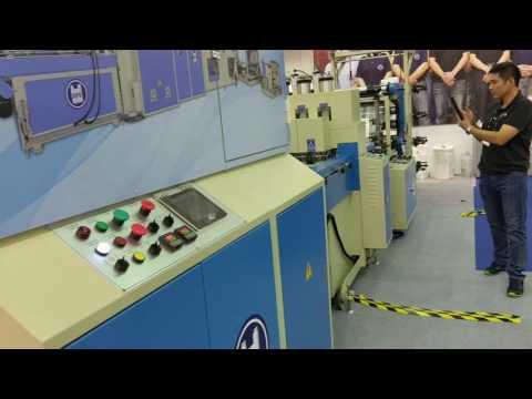 t-shirt bag auto packing machine / shoping bag / falt bag / plastic bag printing machinery /