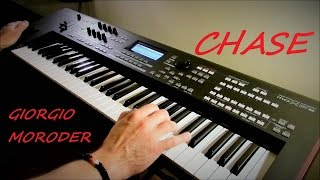 Giorgio Moroder - Chase - Midnight Express - Live Remix on Yamaha moXF6 - Piotr Zylbert (HD)