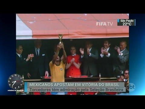 Pela sétima vez seguida, México chega às oitavas de final do Mundial | SBT Brasil (29/06/18)