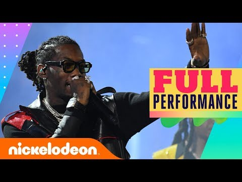 Migos Performs Medley at Kids' Choice Awards