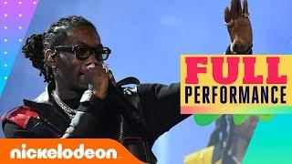 Migos Performs Medley of 'Walk it Like I Talk It', 'Stir Fry', & MORE! | 2019 Kids' Choice Awards thumbnail