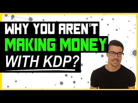 Kindle Publishers - Why Most Publishers Aren't Doing Any Money With KDP