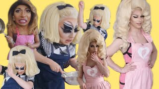Drag Queens trying to cook for 12 minutes straight